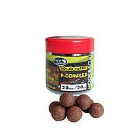 Бойлы насадочные вареные CarpZone Boilies P-Complex Instant Hookbaits Liver & Belachan (Печень и Белачан)