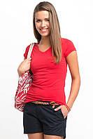 Красная женская футболка De Facto / Де Факто XS