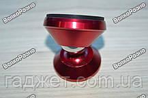 Магнитный держатель Mount красного цвета для телефона в авто, фото 2