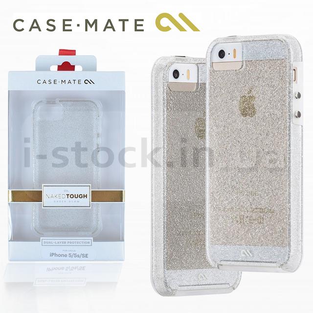 Купить Чехол Case Mate Naked Tough, Sheer Glam для iPhone 5 5S SE (SUPM46933)