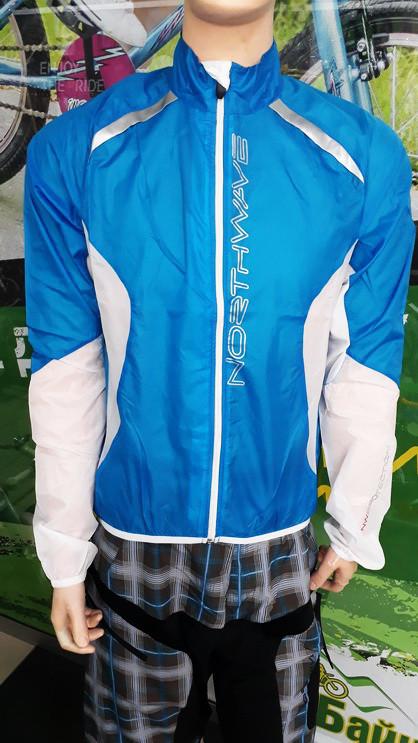 Вітровка Northwave Wind Pro Jacket Light блакитний розмір S
