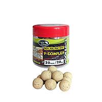 Бойлы насадочные вареные Boilies P-Complex Instant Hookbaits White Chocolate & Banoffee (Шоколад и Баноффи) 14mm / 55pc