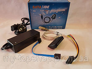 "Перехідник USB 2.0 to SATA/IDE cable for 2.5"", 3.5"""