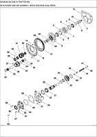06-38 ДВОШВИДКІСНА ПОНИЖУЮЧА ПЕРЕДАЧА МЕХАНІЗМУ ВІДБОРУ ПОТУЖНОСТІ - двухскоростная понижающая передача механизма отбора мощности - power take off