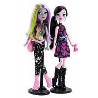 Набор из 2-х кукол Монстер Хай Дракулаура и Моаника - Добро пожаловать в Школу Монстров