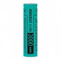 Аккумулятор Videx Li-Ion 18650 (без защиты) 3000 mAh