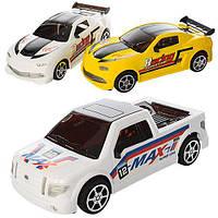 Машинка 550-3 інерційна, 2 види, в кульку, 23-10-7,5 см.
