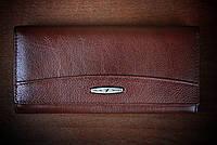 Кошелек коричневый 826-к кожаный, Турция, фото 1