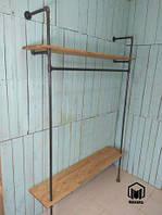 №6 Вешалка loft мебель лофт стойка торговое оборудование из труб