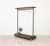 №10 lВешалка loft мебель лофт стойка торговое оборудование из труб