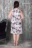 Сарафан из вискозного шёлка прямого силуэта 46-56р, фото 2