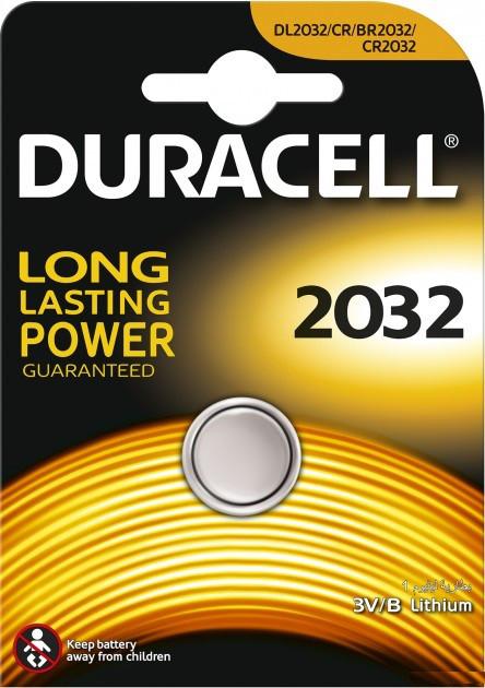 Батарейка Duracell DL 2032 (CR2032) DSN Litium, Оригінал 81469153