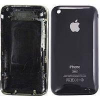 Iphone 3g задняя крышка 8gb цвет-черный