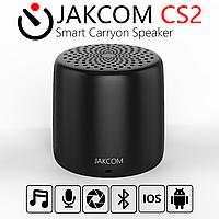 Портативная Блютуз Колонка JAKCOM CS2 Smart Carryon Speaker Black с функцией фото Селфи