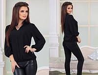 Стильная женская рубашка - блузка из штапеля