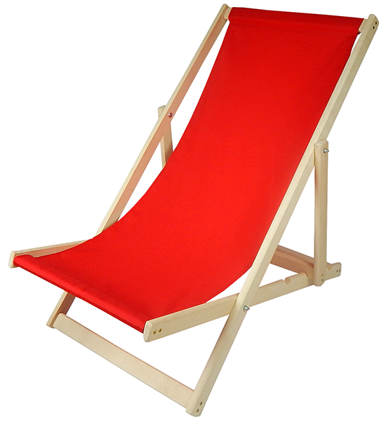 Пляжный лежак RED