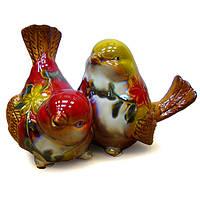 Фигурка для декора керамическая Птицы-пара