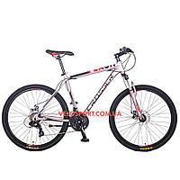 Горный велосипед Crosser Flash 26 дюймов серый