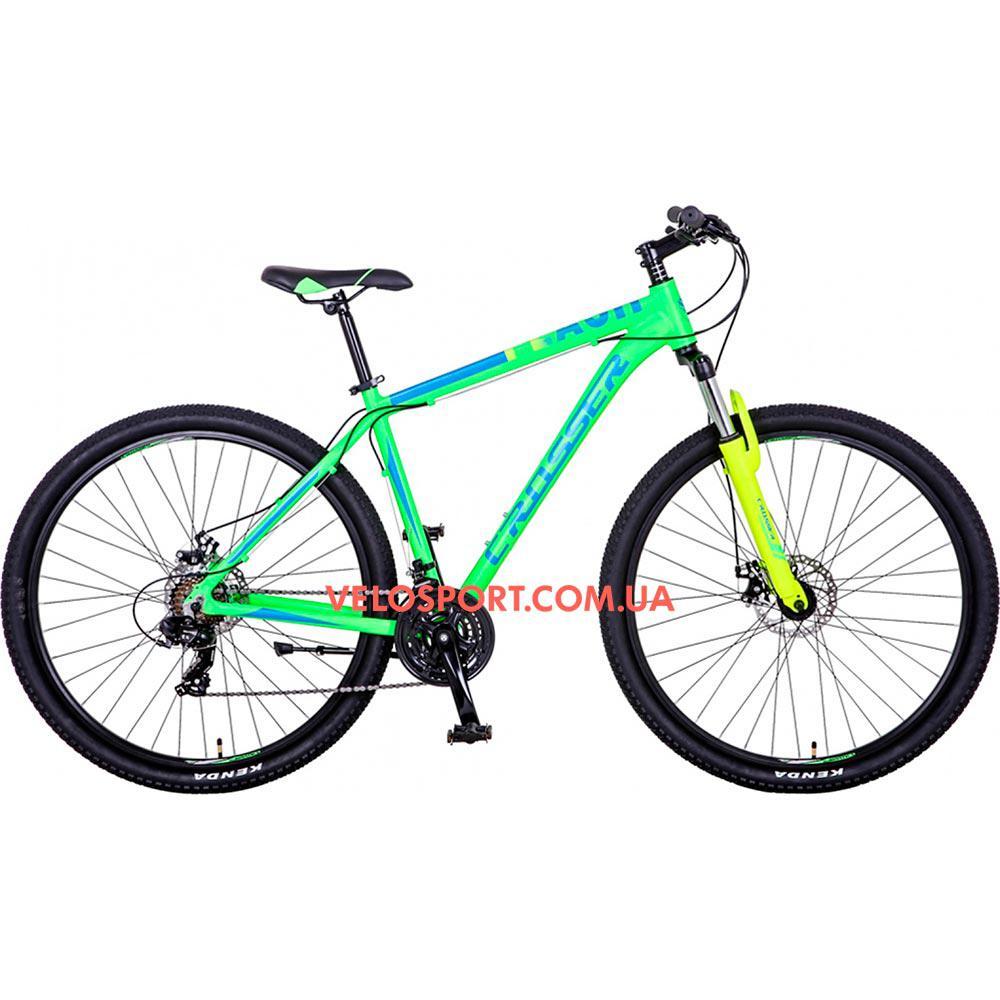 Горный велосипед Crosser Flash 29 дюймов салатовый