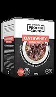Заменители питания BioTech oat & whey with fruits 696 гр