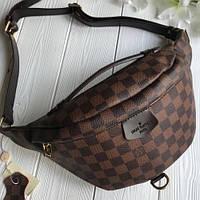 d86fa7d7eea9 Напоясная сумка-бананка Louis Vuitton Люкс, нагрудная сумка Луи Витон,  сумка от луи