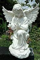 Ритуальные скульптуры из бетона. Статуя Ангела скорби №24 из полимера 55 см, фото 1