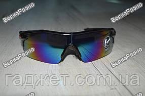 Спортивные солнцезащитные очки / Вело очки со стеклами хамелеон