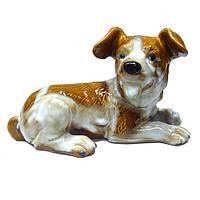 Фигурка для декора дома керамическая Собака