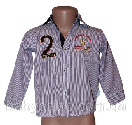 Рубашка для мальчика вышивка (от 1 до 4 лет), фото 2