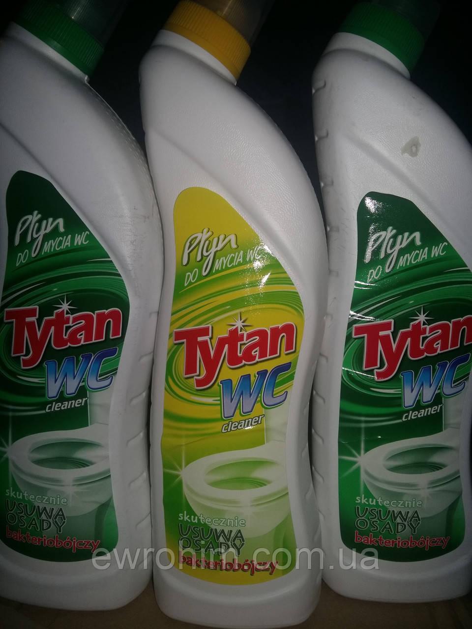 Средство для чистки туалетной и ванной комнаты Tytan, 700 мл
