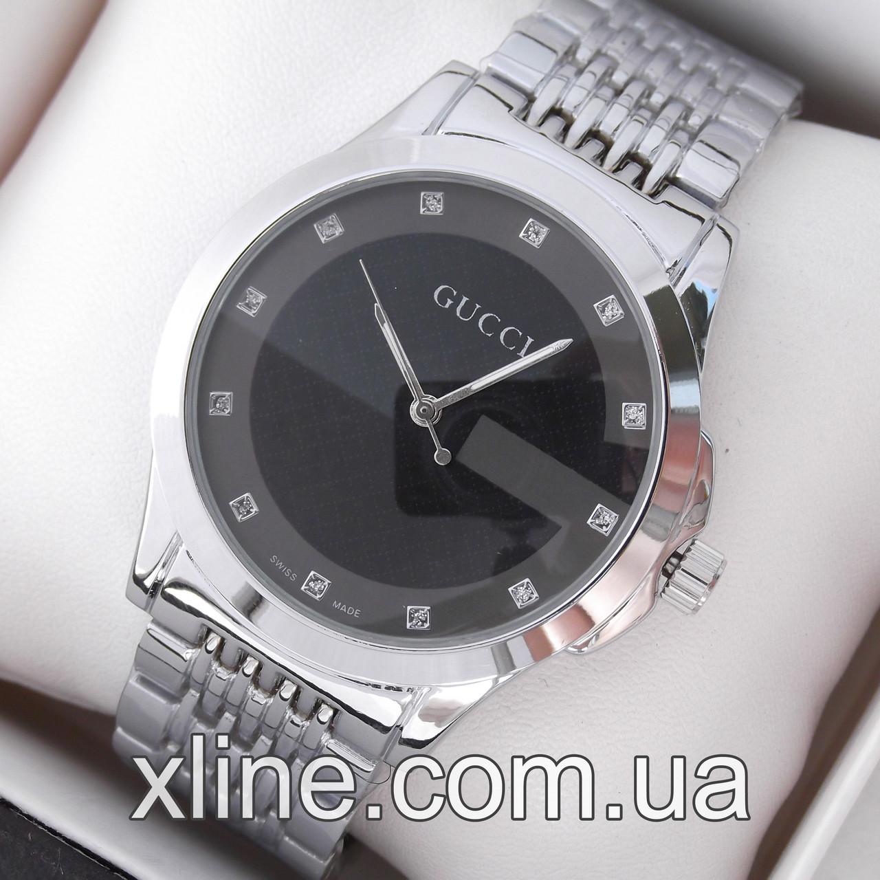 02b692dc Женские наручные часы Gucci 6848 на металлическом браслете: продажа ...