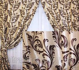 Готовые шторы из ткани блэкаут