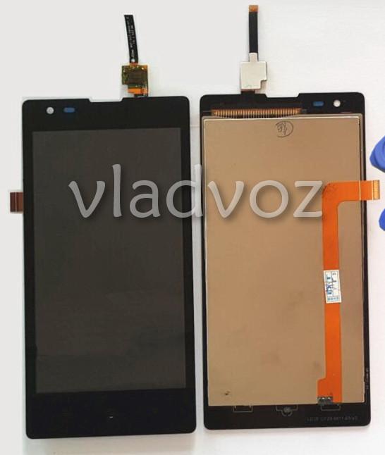 Дисплей модуль экран с сенсором для замены на Xiaomi Red Rice 1S черный