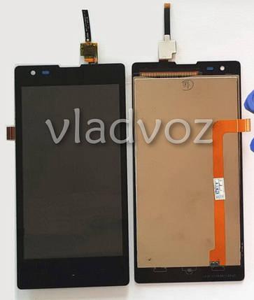 Дисплей модуль экран с сенсором для замены на Xiaomi Red Rice 1S черный, фото 2