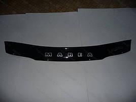 Дефлектор капота, мухобойка Fiat Marea (185) 1996–2002 VIP