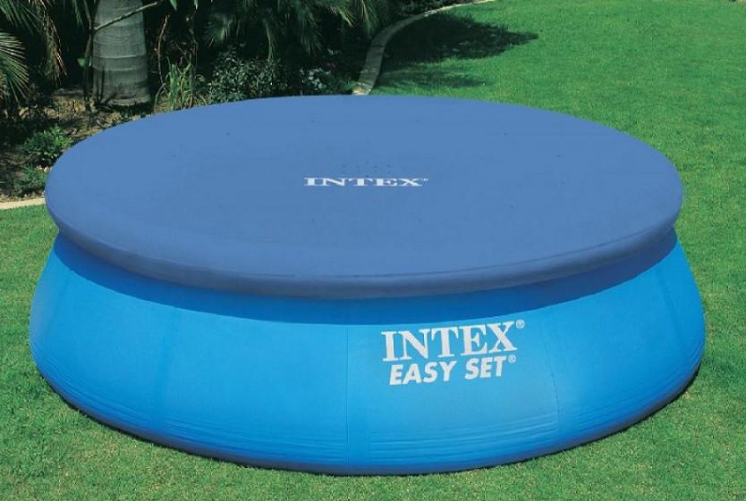Тент для круглого бассейна Intex 28020 диаметр 244 см
