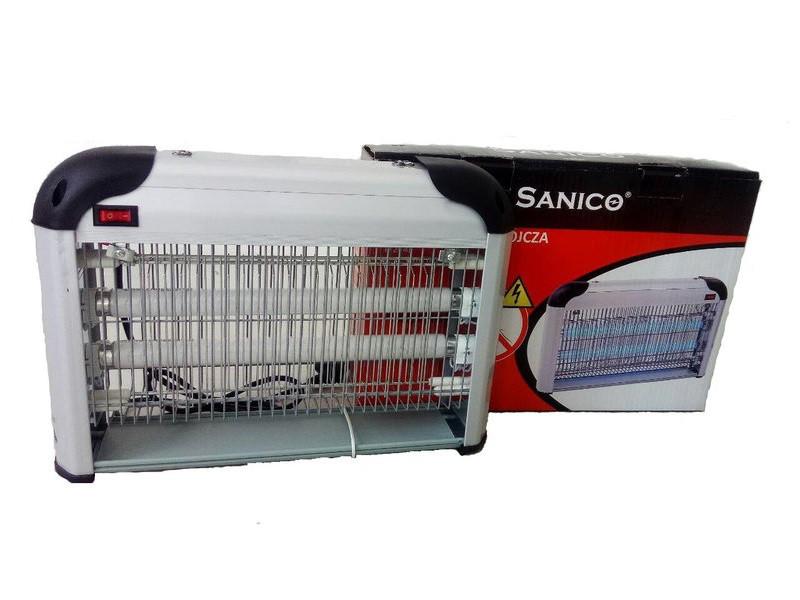 Мухоловка. Уничтожитель Sanico 20 Вт ловушка для мух, комаров, ос и остальных насекомых.