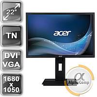 """Монитор 22"""" Acer B226W (TN/16:10/DVI/VGA/колонки) class B БУ"""