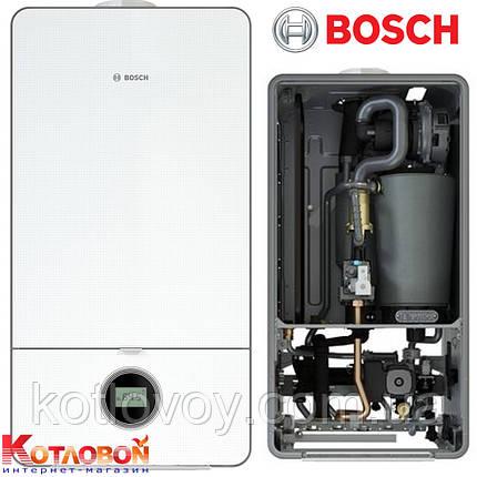 Конденсационный настенный газовый котел BOSCH Condens 7000i W, фото 2