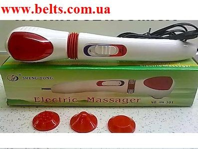 Чудо-массажер Electric massager НК301 + 3 насадки