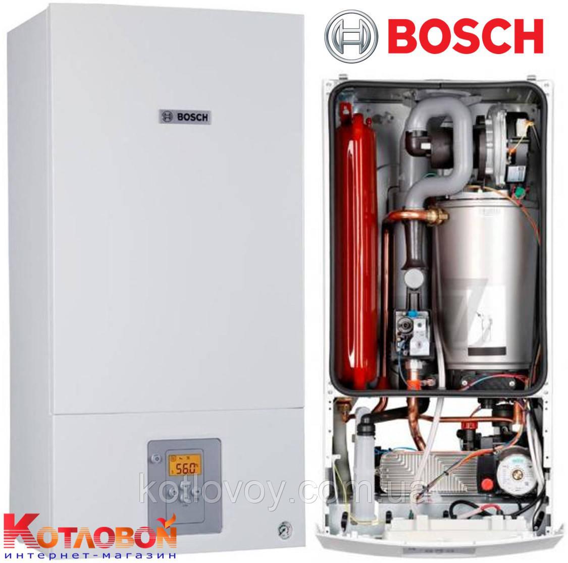 Конденсационный двухконтурный котел Bosch Condens 2500 W WBC 28-1 DC