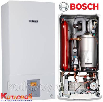 Конденсационный двухконтурный котел Bosch Condens 2500 W WBC 28-1 DC , фото 2