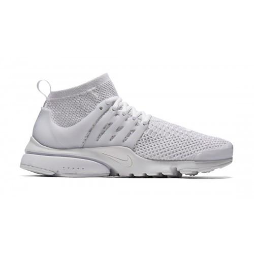 Женские кроссовки Nike Air Presto Flyknit white   Женская обувь Найк Аир  Престо, стильные, 6e84e3a4d4d