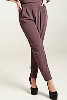 Фиолетовые стильные брюки для девушек Карида