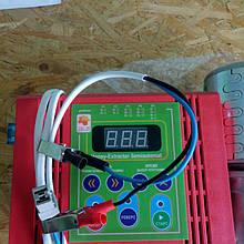 Привод медогонки электрический червячный с алюминиевым корпусом 12В. Модель 2 - сенсорным блоком управления