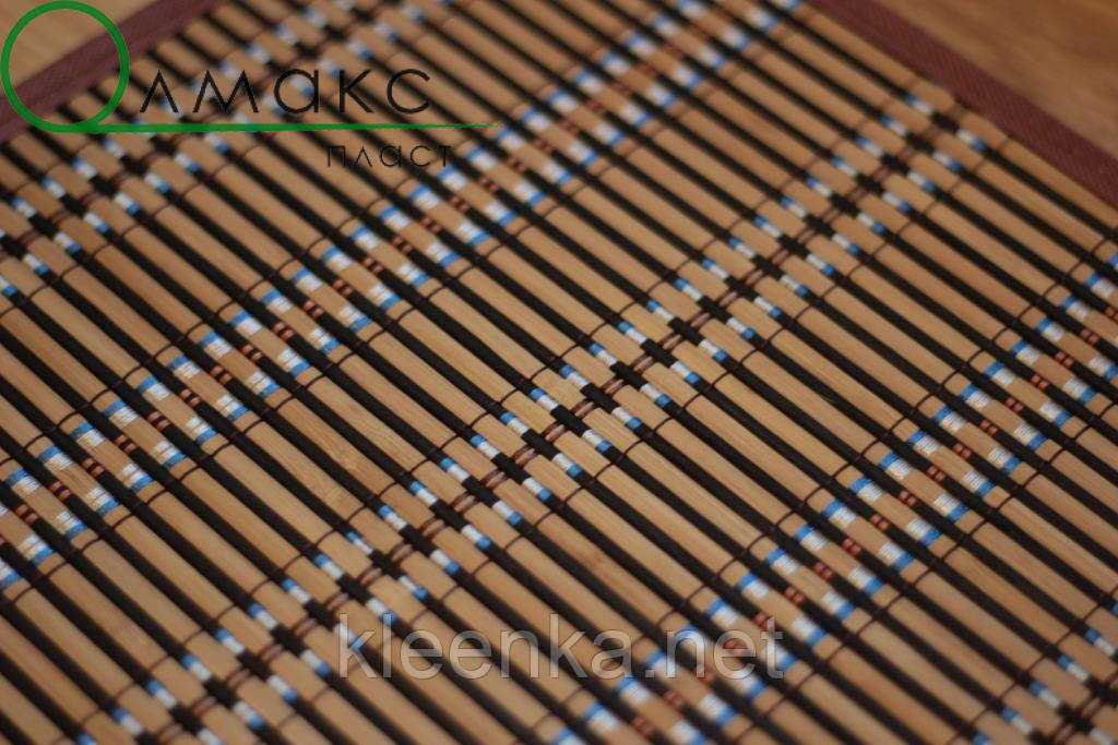 Подложка-салфетка, сет на стол бамбук 30см*45см, термостійка серветка на стіл