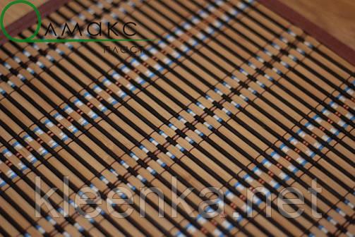 Подложка-салфетка, сет на стол бамбук 30см*45см, термостійка серветка на стіл, фото 2