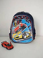 Синий школьный рюкзак для мальчика 1-4 класс, фото 1