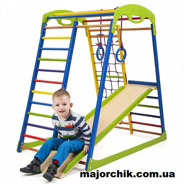 Детский спортивный уголок спортивный комплекс для дома SpWood