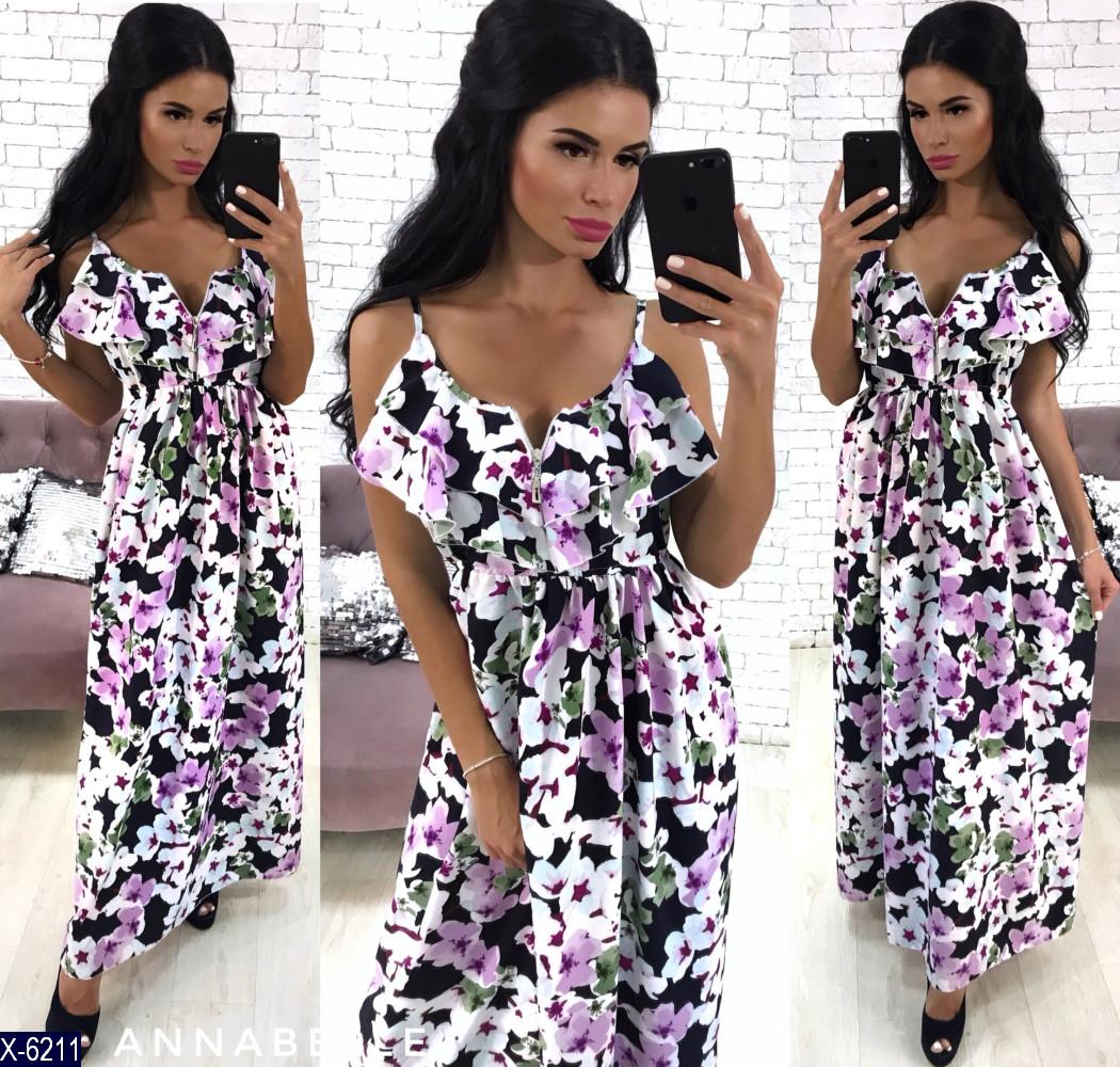 Платье в расцветках мод.116